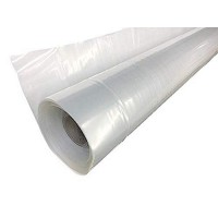 Poly-Cover Plastic Sheeting 6 mil 10' x 50' Clear