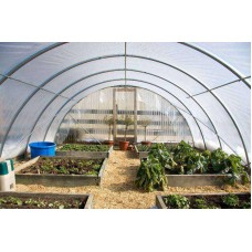 Greenhouse Film 4 year 6 mil clear sheeting 50' x 50'