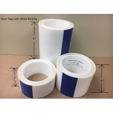 UV Resistant Clear Patch Tape 48' Rolls, Multiple Widths