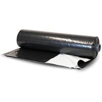 Bunker Cover - 6mil - Black/White Plastic Sheeting - 24' x 50'