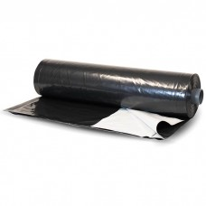10' x 150' 6 mil Black/White Film for Weed Control Rows