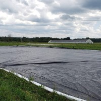 Bunker Cover - 6mil - Black/White Plastic Sheeting - 24' Wide - *Select Length*