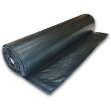Poly-Cover Plastic Sheeting 4 mil 3' x 500' Black