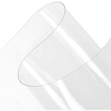 """Vinyl Sheeting - 54"""" Wide - 15mil - Clear - *SELECT LENGTH*"""