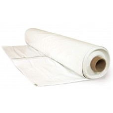 6 mil white construction plastic 16' x 55'